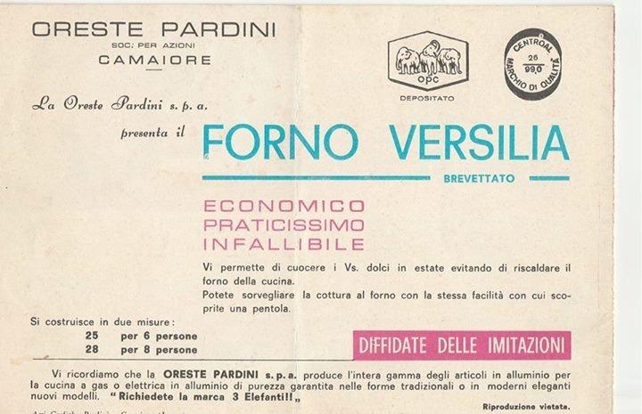 Forno Versilia originale