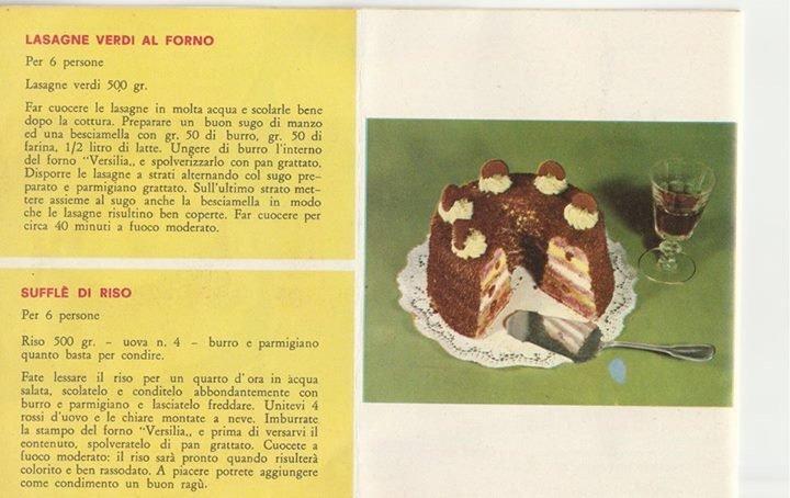 Le ricette originali del fornetto Versilia