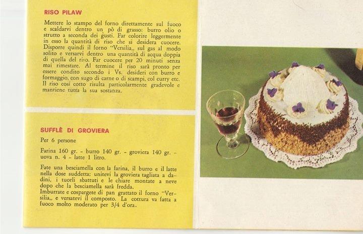 Ricetta di dolci con Fornetto Versilia