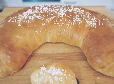 Dolce di compleanno facile e particolare: Cornetto gigante alla nutella
