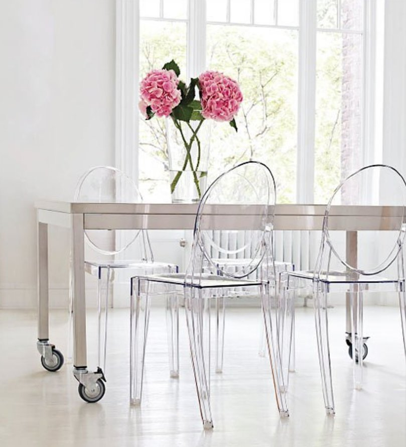 Sedia iconica Louis Ghost Kartell