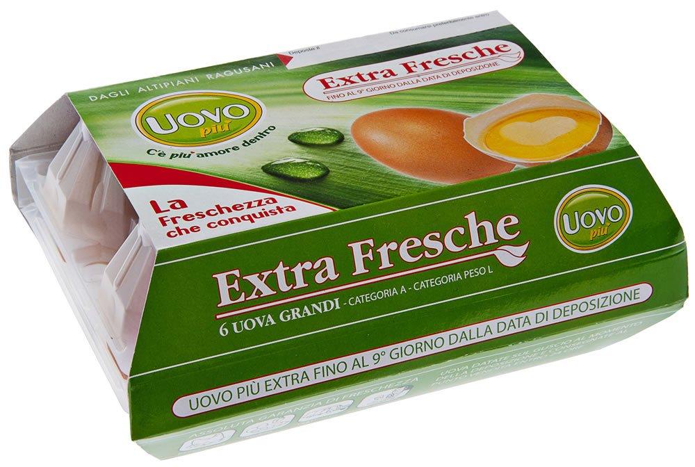 Uova fresche di categoria A extra