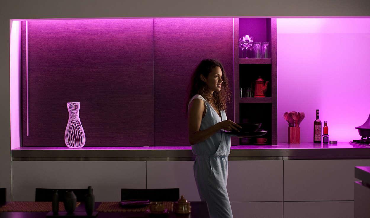 illuminazione con Amazon Echo Alexa
