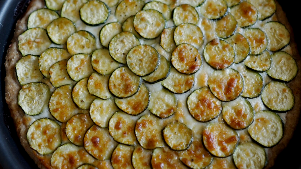 Ricetta torta salata con zucchine