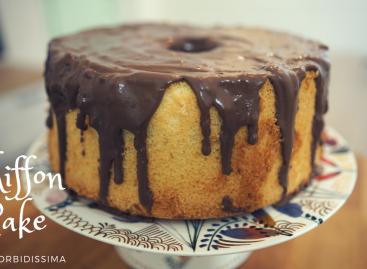 Chiffon Cake: torta alta e soffice