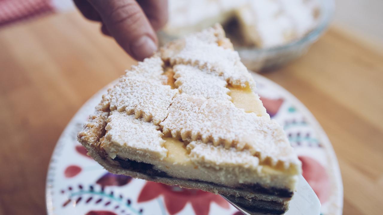 crostata ricotta e cioccolato pugliese