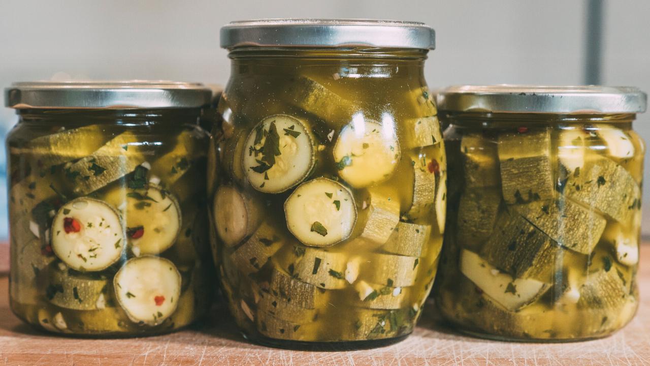 zucchine sott'olio pugliesi