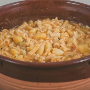 pasta e patate alla pugliese