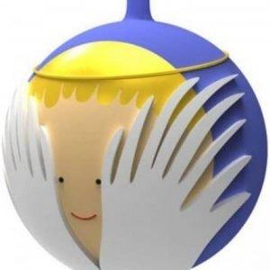 Angioletto palla di Natale Alessi
