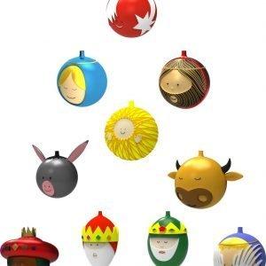 palline per l'albero originali