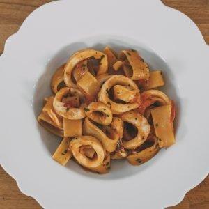 piatto di calamarata