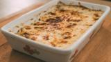 Parmigiana di zucchine bianca